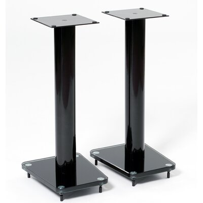 "Transdeco International 24"" Fixed Height Speaker Stand (Set of 2)"