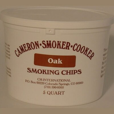 Camerons Oak Wood Chips (5-quart)