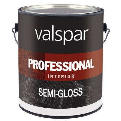 Valspar 1 Gallon Light Base Interior Professional Series Paint Semi Gloss