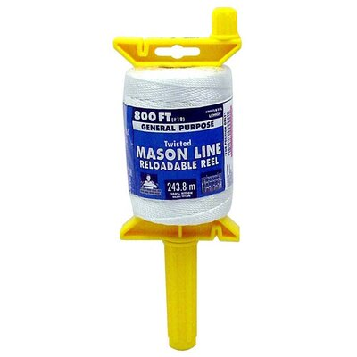Lehigh Group Twisted Mason Line On Reloadable Reel
