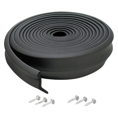 M-d Products Rubber Garage Door Bottom Seal