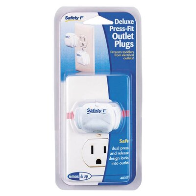 Safety 1st Dorel Juvenile Deluxe Press Fit Outlet Plug