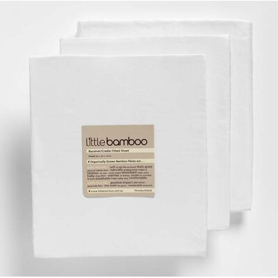 Little Bamboo Fitted Crib Sheet