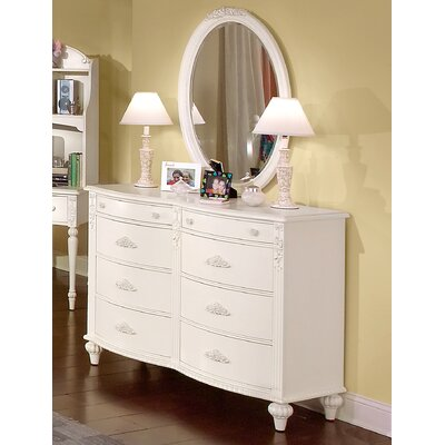 American Woodcrafters Cheri 6-Drawer Dresser Set