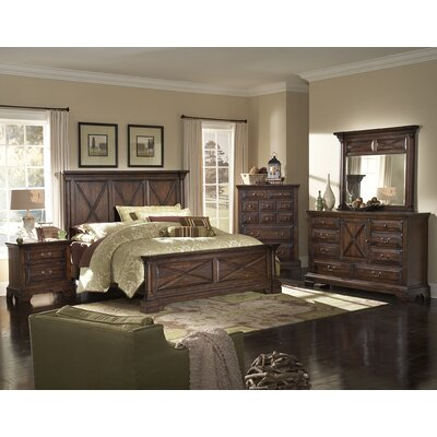 American Woodcrafters Heritage Lodge 5 Drawer Chest