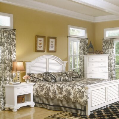 American Woodcrafters Cottage Traditions Panel Bedroom Set