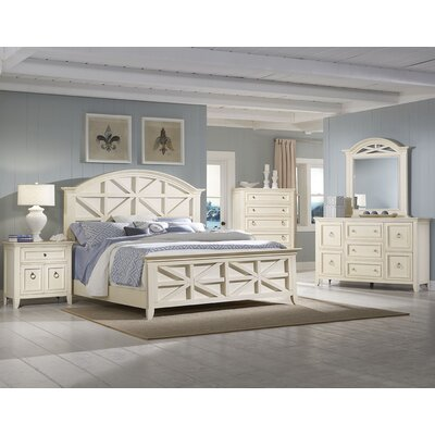 Courtyard Panel Bedroom Collection