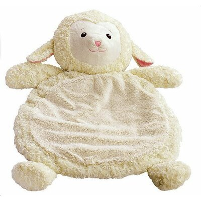 Bestever Baby Mat with Lamb in White
