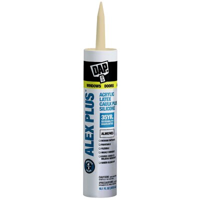 DAP Almond Acrylic Latex Caulk With Silicone 18130