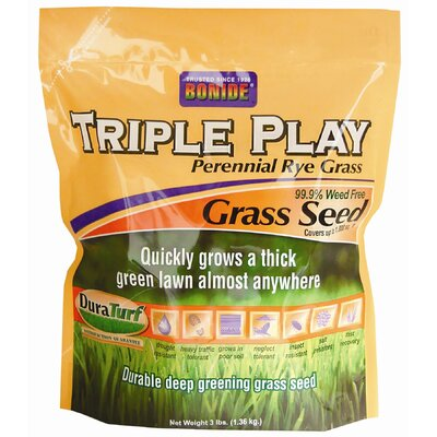 Bonide Triple Play Rye Grass Seed