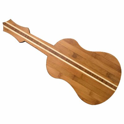 <strong>Totally Bamboo</strong> Tropical Ukulele Board Cutting Board
