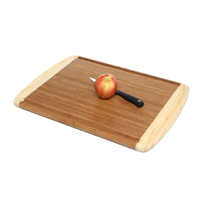 Totally Bamboo Hawaiian Large Dark Hawaiian Cutting Board Set