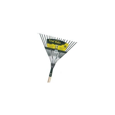 Flexrake Handle Spring Action Metal Head Leaf Rake