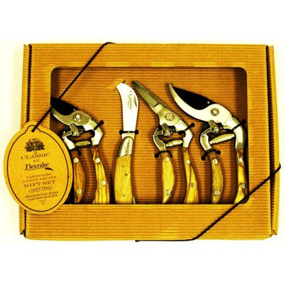 Flexrake 4 Piece Gift Pack Classic Pruners