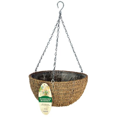 Gardman USA Woven Rope Hanging Basket