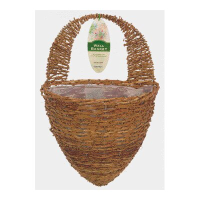 Gardman USA Half Hive Wall Basket Planter
