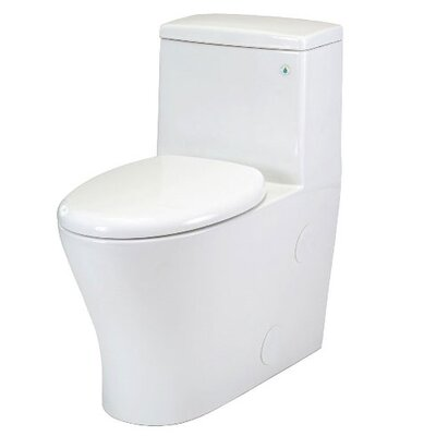 Pegasus Nitra One Piece Elongated Toilet in White