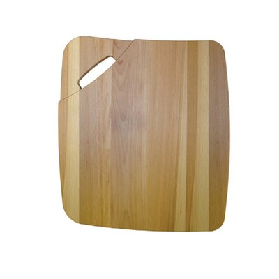 Pegasus Wood Cutting Board for Granite Single Bowl Sinks