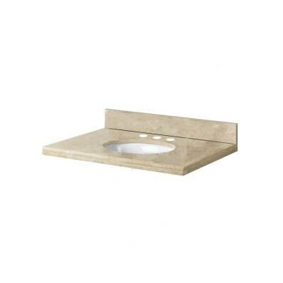 "Pegasus 31"" Travertine Vanity Top"