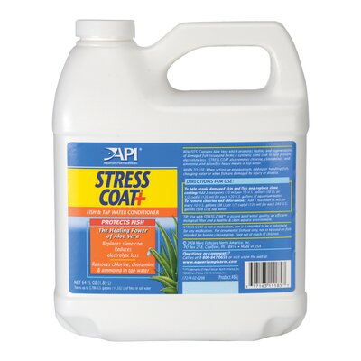 Mars Fishcare North America Stress Coat Water Conditioner - 64 oz.