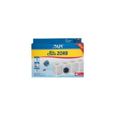 Mars Fishcare North America Api Bio-Chem Zorb Size 4 Filter