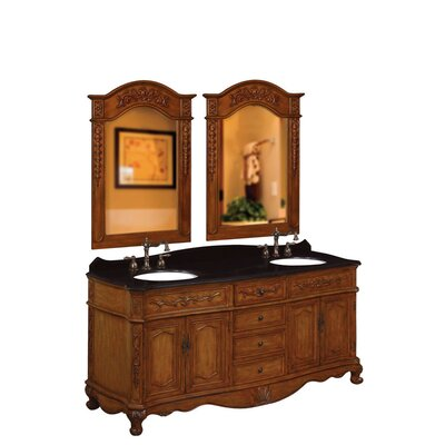 "Belle Foret 72"" Double Vanity Set"