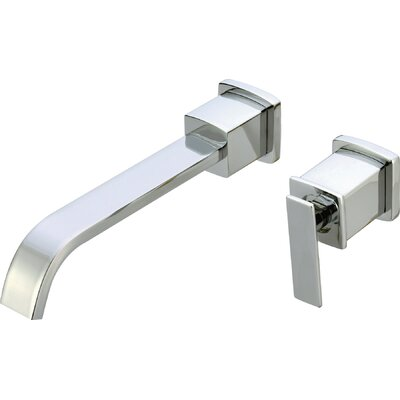 Mainz Wall Mounted Bathroom Sink Faucet with Single Handle - L475