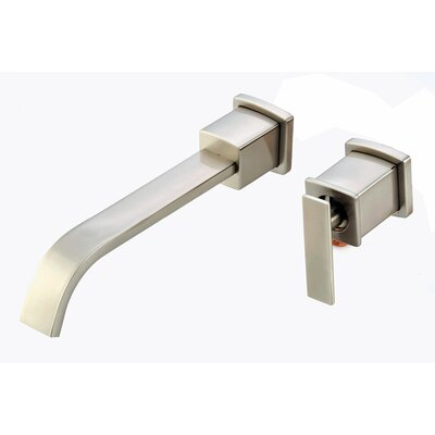 Belle Foret Mainz Wall Mounted Bathroom Sink Faucet with Single Handle