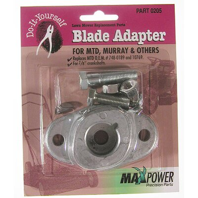 Maxpower Precision Parts MTD Blade Adapter Kit Pack