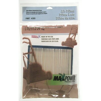 Maxpower Precision Parts 399877 Briggs and Stratton Air Filter