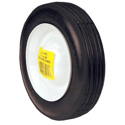"Maxpower Precision Parts 6"" x 1.5"" Steel Wheel"