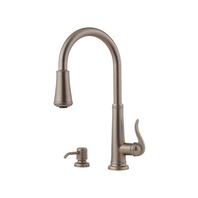 pfister ashfield single handles widespread kitchen faucet pfister cantara single handle pull out sprayer kitchen