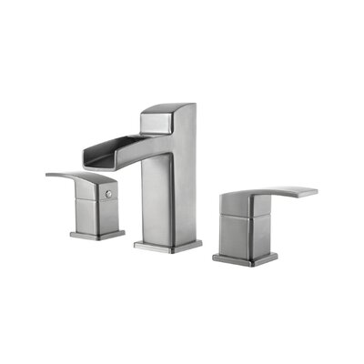 Price Pfister Kenzo Widespread Bathroom Faucet with Single Lever Handle