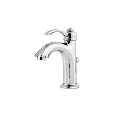 Portola Single Hole Bathroom Faucet with Single Scroll Handle - GT42-RP0