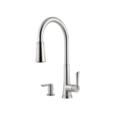 Price Pfister Mystique One Handle Widespread Pull-Out Kitchen Faucet