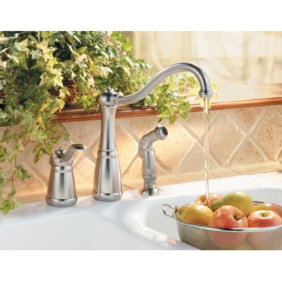 Price Pfister Marielle One Handle Kitchen Faucet with Sidespray