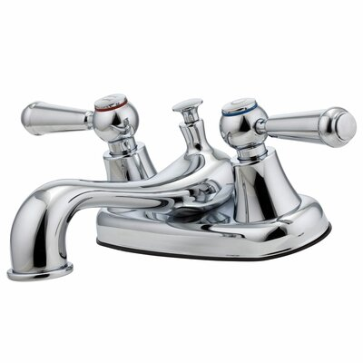 Pfirst Series Double Handle Centerset Bathroom Faucet - G148-5000