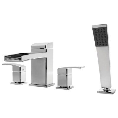 Price Pfister Kenzo Hand shower Roman Tub Faucet with Trim
