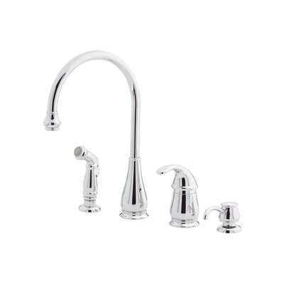 kitchen faucet with soap lotion dispenser and side spray reviews