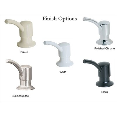 Price Pfister Soap Dispenser with Round Nozzle