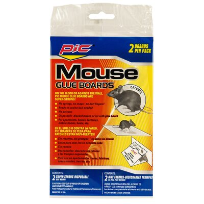 Glue Board Mouse Traps (2 Pack)