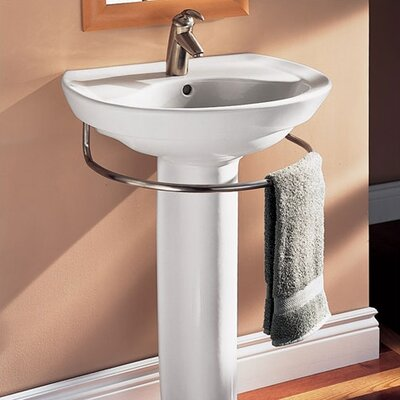 ... Standard Ravenna Pedestal Bathroom Sink Set & Reviews Wayfair