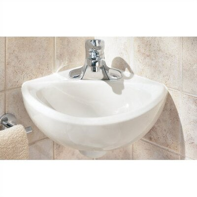American Standard Corner Minette Wall Mount Bathroom Sink