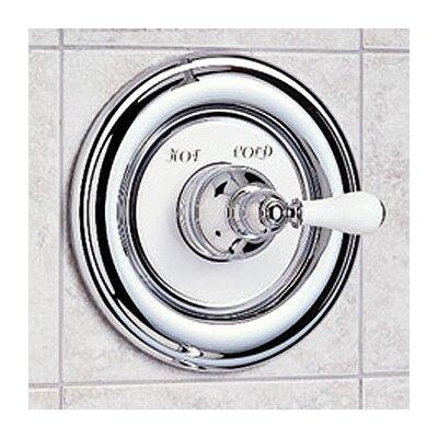 Hampton Diverter Shower Faucet Trim Kit With Porcelain