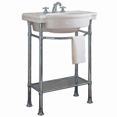 American Standard Retrospect Console Table with Bathroom Sink ...