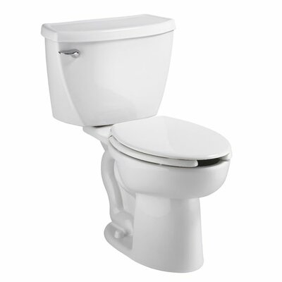 American Standard Cadet Right Height 1.6 GPF Elongated 2 Piece Toilet with Bedpan Slots Combo