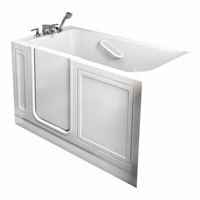 "American Standard Acrylic 51"" x 30"" Walk-In Tub with Air Spa"