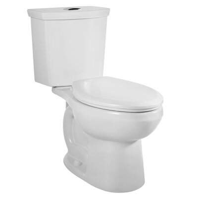 American Standard H2Option Round 2 Piece Toilet