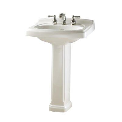American Standard Pedestal Bathroom Sinks : American Standard Townsend Pedestal Bathroom Sink Set & Reviews ...