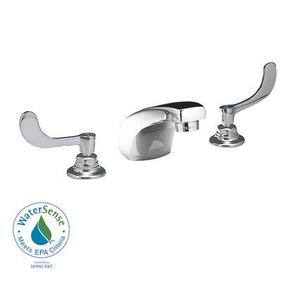 American Standard Monterrey Widespread Bathroom Faucet with Double Wrist Blade Handles